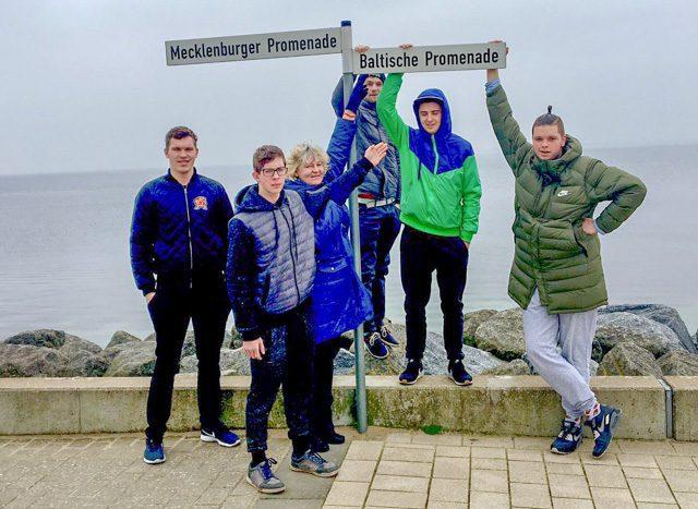 Students from Kuldīga visit Schwerin