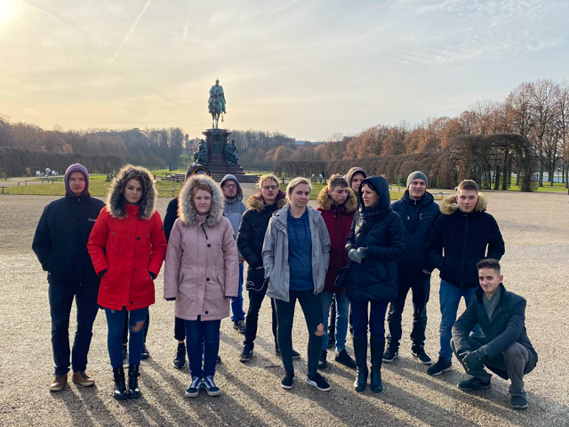Trainees from Aizkraukle, Latvia, visit Germany
